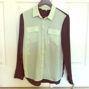 Brand new with tags sheer blouse
